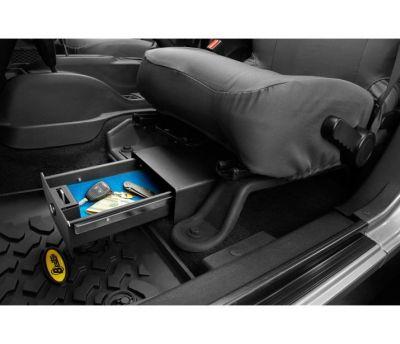 Bestop Underseat Lock Box Jeep JK