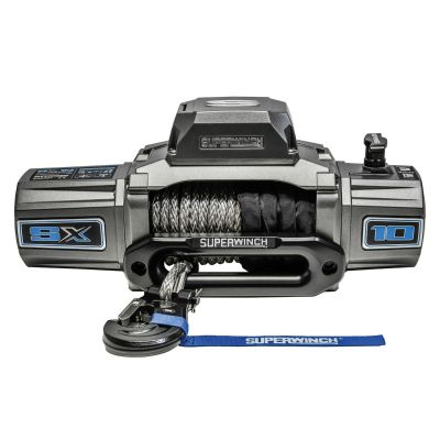 Superwinch SX10SR 12V Synthetic Rope Winch