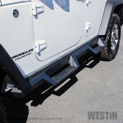 Westin Automotive HDX Drop Nerf Step Bars Jeep JKU