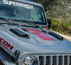 Westin Automotive LED Hood Scoops Jeep JL/JT