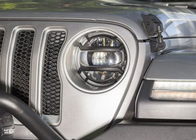 RUGGED RIDGE ELITE HEADLIGHT GUARDS JEEP JL/JLU/ JT