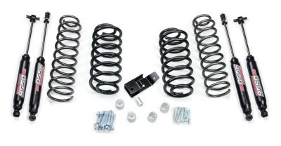 "TeraFlex 2"" Coil Spring Lift Kit & 9550 VSS Twin-Tube Shocks Jeep TJ"