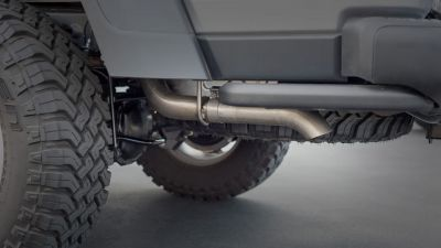 BORLA S-Type Cat-Back System Turn Down Pipe JEEP Gladiator JT