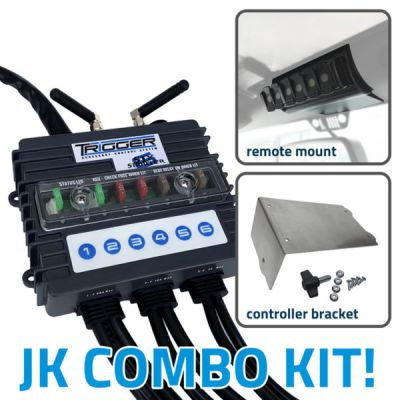 TRIGGER 6 SHOOTER JEEP WRANGLER JK COMBO KIT