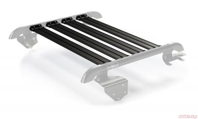 Teraflex JK 2-Door Nebo Roof Rack 4-Piece Cargo Slat Kit - Black