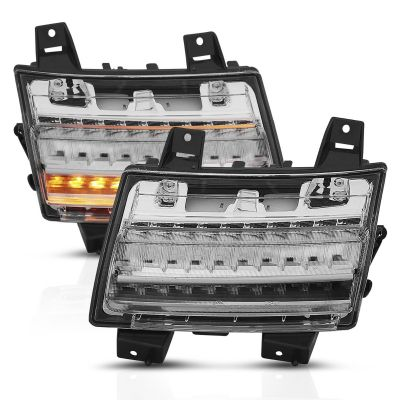Anzo USA LED Parking Light with Sequential Turn Signal Jeep JL/JLU/JT