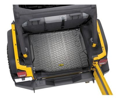 Bestop Rear Cargo Liner for Jeep 11-18 Wrangler 2DR/4DR