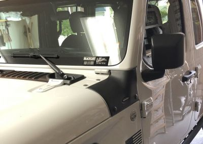 Bushwacker Trail Armor Cowl Guard Jeep JL/JLU