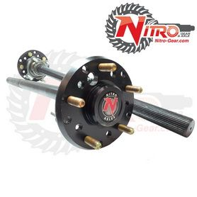 Nitro Rear Chromoly Axle Kit Dana 44 1