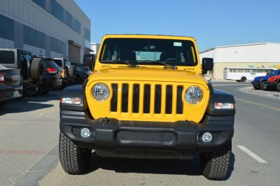 Brand New Jeep Wrangler Unlimited Sport 2020 Yellow