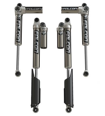 "Falcon Series 3.1 Piggyback Shocks (2-4.5"" Lift) Jeep JLU 4-Door"