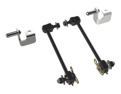 "Teraflex JK: 8.5"" Front Sway Bar Quick Disconnect Kit (0-2.5"" Lift)"