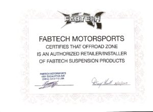 FABTECH MOTORSPORTS