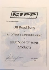 RIPP Supercharger Products